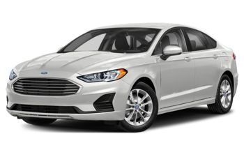 2019 Ford Fusion - Oxford White