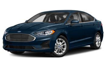 2020 Ford Fusion - Alto Blue Metallic Tinted Clearcoat