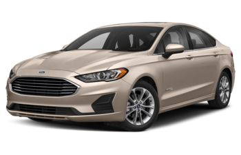 2019 Ford Fusion Hybrid - White Gold Metallic
