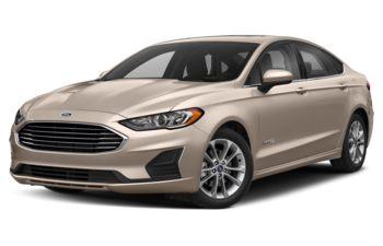 2019 Ford Fusion Hybrid - White Gold Metallic