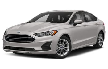 2019 Ford Fusion Hybrid - White Platinum Metallic Tri-Coat