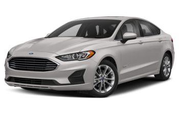 2019 Ford Fusion Hybrid - White Platinum Metallic Tri-Coat