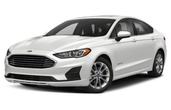 2019 Ford Fusion Hybrid - Oxford White