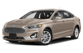2019 Ford Fusion Energi - White Gold Metallic