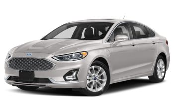 2019 Ford Fusion Energi - White Platinum Metallic Tri-Coat