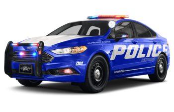 2020 Ford Police Responder Hybrid Sedan - Velocity Blue