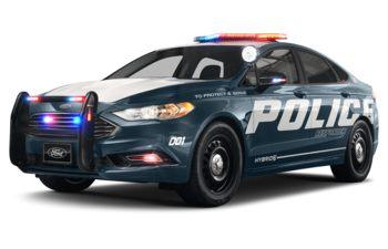 2019 Ford Police Responder Hybrid Sedan - Blue