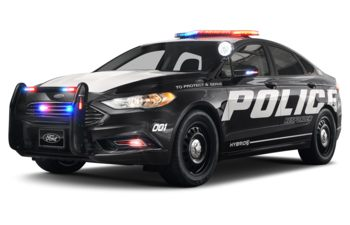 2019 Ford Police Responder Hybrid Sedan - Shadow Black