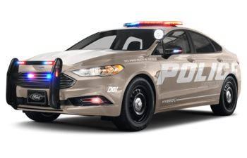 2019 Ford Police Responder Hybrid Sedan - White Gold