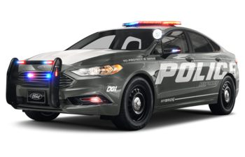 2019 Ford Police Responder Hybrid Sedan - Magnetic