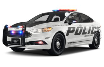 2019 Ford Police Responder Hybrid Sedan - Oxford White