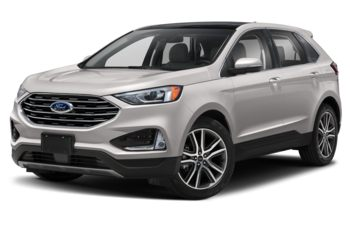 2019 Ford Edge - White Platinum Metallic Tri-Coat