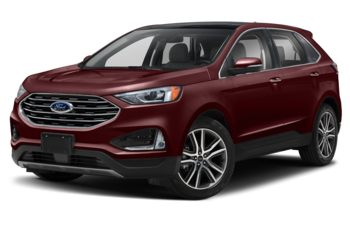 2019 Ford Edge - Burgundy Velvet Metallic Tinted Clearcoat