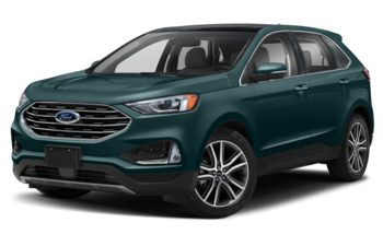 2020 Ford Edge - Dark Persian Green Metallic
