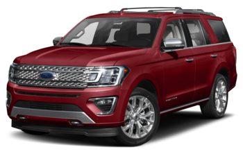 2019 Ford Expedition - White Platinum Metallic Tri-Coat