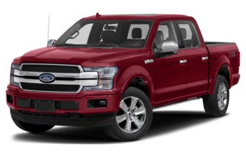2019 Ford F-150 - Ruby Red Metallic Tinted Clearcoat