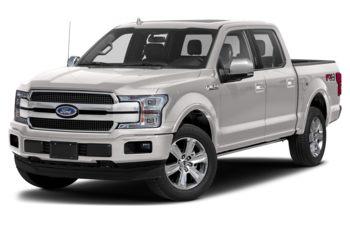 2019 Ford F-150 - White Platinum Metallic Tri-Coat