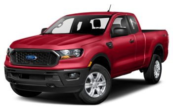 2021 Ford Ranger - Rapid Red Metallic Tinted Clearcoat