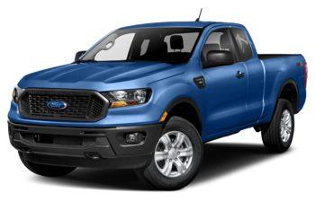 2021 Ford Ranger - Velocity Blue Metallic
