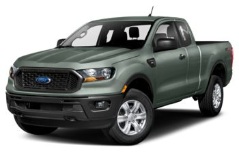 2021 Ford Ranger - Cactus Grey Meallic