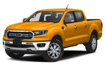 2021 Ford Ranger - Cyber Orange Metallic Tri-Coat