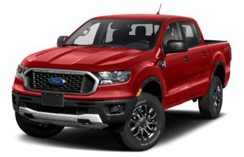 2021 Ford Ranger - Race Red