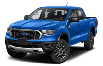 2021 Ford Ranger - Velocity Blue Metallic