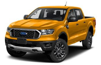 2021 Ford Ranger - Cyber Orange Metallic Tri-Coat