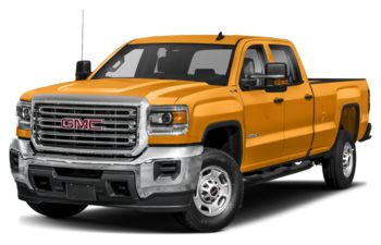 2019 GMC Sierra 2500HD - Wheatland Yellow