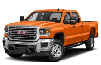 2019 GMC Sierra 2500HD - Tangier Orange