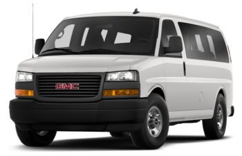 2020 GMC Savana 3500 - Summit White