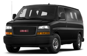2020 GMC Savana 3500 - Onyx Black