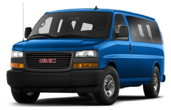 2020 GMC Savana 3500 - Marine Blue Metallic