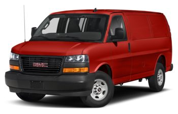 2020 GMC Savana 3500 - Cardinal Red