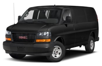 2020 GMC Savana 3500 - Black Onyx