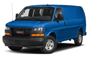 2020 GMC Savana 2500 - Marine Blue Metallic
