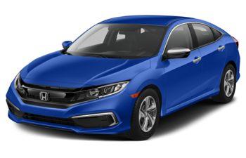 2019 Honda Civic - Brilliant Sporty Blue Metallic
