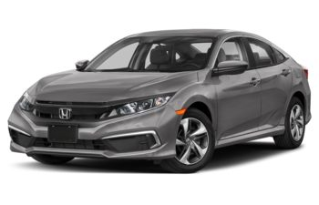 2021 Honda Civic - Lunar Silver Metallic