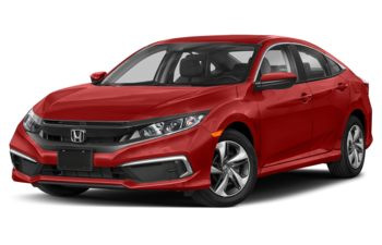 2019 Honda Civic - Rallye Red