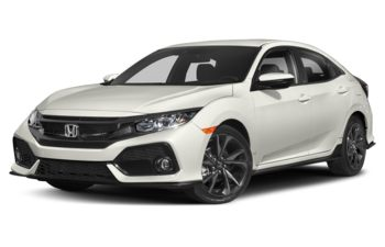 2019 Honda Civic Hatchback - White Orchid Pearl