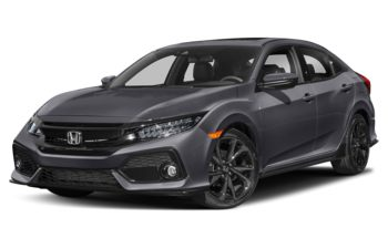 2019 Honda Civic Hatchback - Sonic Grey Pearl