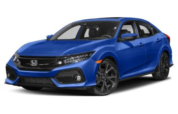 2019 Honda Civic Hatchback - Aegean Blue Metallic