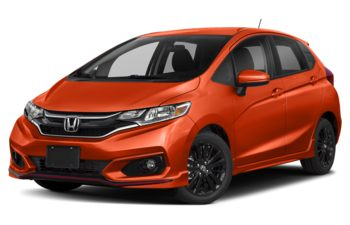 2019 Honda Fit - Orange Fury