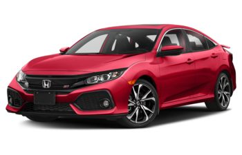 2019 Honda Civic Si - Rallye Red