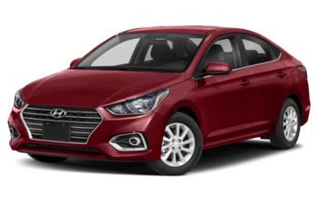 2019 Hyundai Accent - Fiery Red