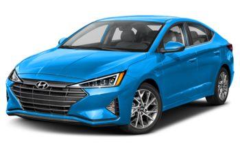 2019 Hyundai Elantra - Teal Blue