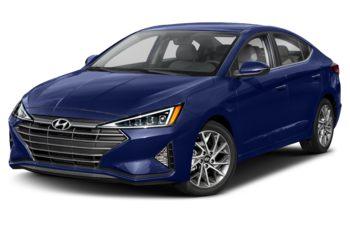 2019 Hyundai Elantra - Intense Blue