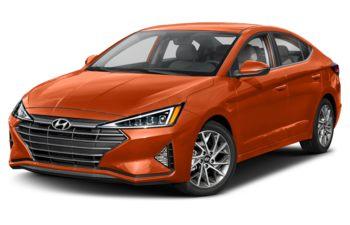 2019 Hyundai Elantra - Lava Orange