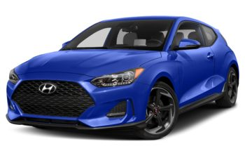 2019 Hyundai Veloster - Cobalt Eclipse w/Phantom Black Roof