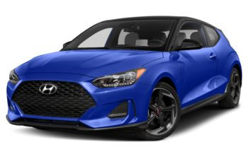 2020 Hyundai Veloster - Cobalt Eclipse w/Phantom Black Roof